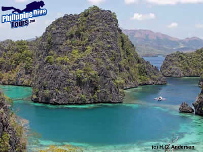 coron with h.c. andersen liveaboard philippines