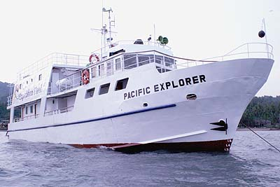 MV Pacific Explorer