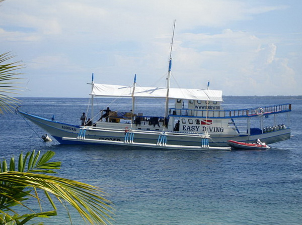 dive safari philippines - outrigger bance